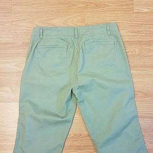 LOFT Pants - Ann Taylor Loft Cropped Patchwork Jeans